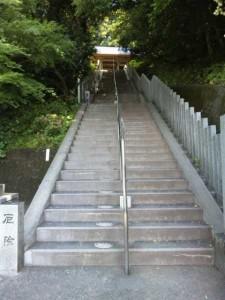 26番札所金剛頂寺厄除けの階段