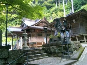 27番札所神峯寺の本堂