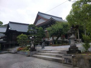 30番札所善楽寺の本堂