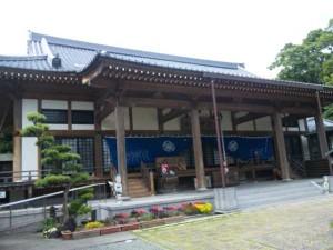 33番札所雪蹊寺の本堂