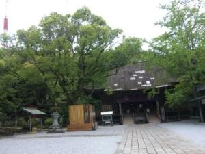 32番札所竹林寺の本堂
