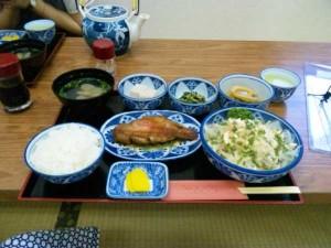 高知屋の夕食