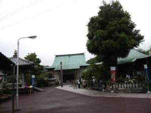 34番札所種間寺の本堂