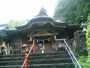 35番札所清瀧寺の本堂