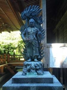 36番札所青龍寺の不動明王