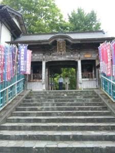 37番札所岩本寺の山門