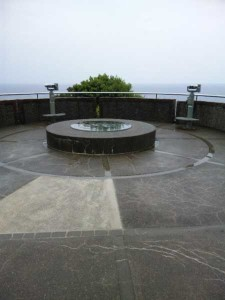 足摺岬の展望台