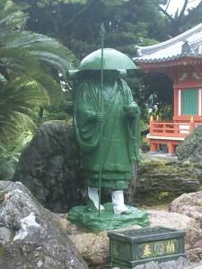 38番札所金剛福寺の大師像