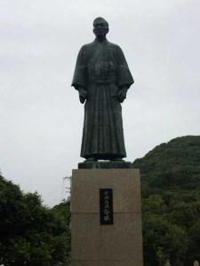 足摺岬のジョン万次郎像