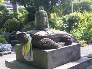 39番札所延光寺梵鐘の亀