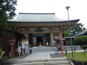 40番札所観自在寺の本堂