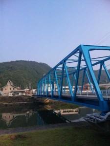 新橋旅館前の橋