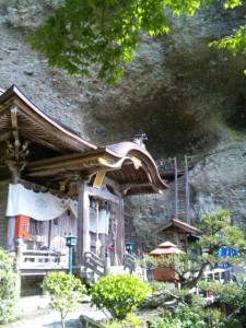 45番札所岩屋寺の本堂