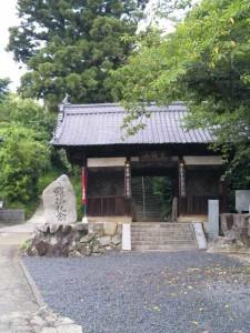 蓮華寺の山門