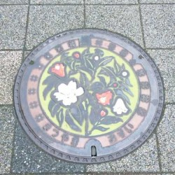 松山市マンホール