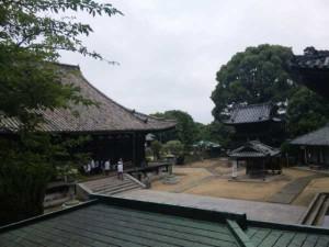 52番札所太山寺の境内