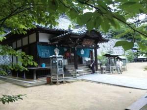 52番札所太山寺の大師堂