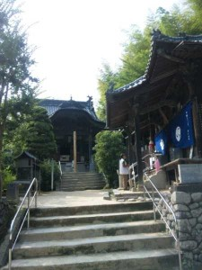 57番札所栄福寺の境内