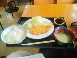 道の駅今治湯ノ浦温泉で昼食