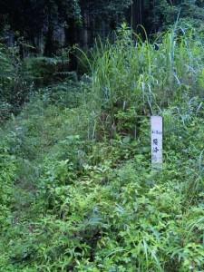 60番札所横峰寺への遍路道