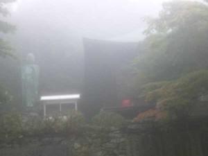 65番札所三角寺の本堂