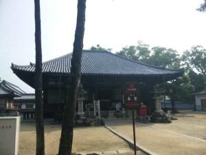 70番札所本山寺の本堂
