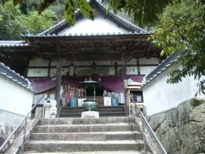 71番札所弥谷寺の本堂