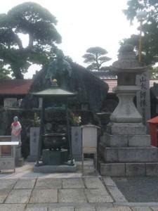 76番札所金倉寺の入山大師像