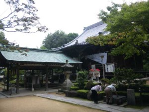 81番札所白峯寺の本堂