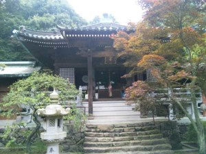 82番札所根香寺の本堂
