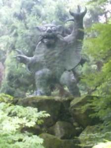 82番札所根香寺の牛鬼
