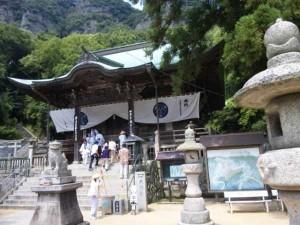 85番札所八栗寺の本堂