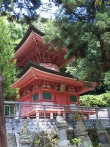 85番札所八栗寺の多宝塔