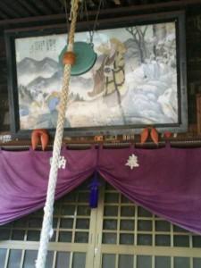 86番札所志度寺の大師堂の絵