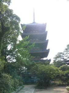 86番札所志度寺の五重塔