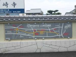 洲崎寺の観光案内図