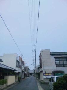 志度寺までの道