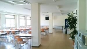 コスモ寮の食堂