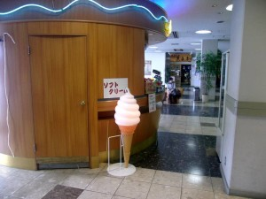 ターミナル内の売店