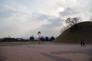 古墳群の公園