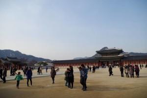 景福宮の広場