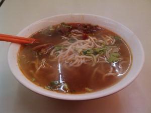 中国最初の食事