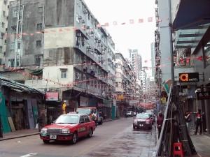 昼間の廟街