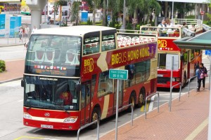 香港名物BIG BUS