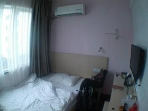 桂林68°酒店のシングルルーム