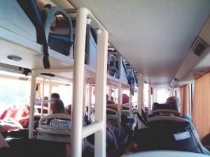 ハンカフェのスリーピングバス