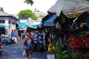 プーケット旧市街のフレッシュマーケット