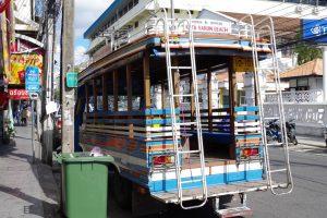 カタ・カロン行きのバス