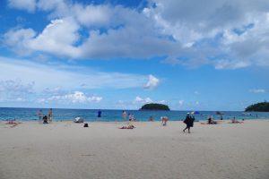 カタビーチの海