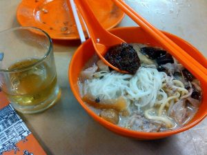 マレーシア最初の食事